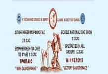 Αλεξανδρούπολη  1η και 2η Εθνική έκθεση μορφολογίας και ειδικής για όλες  τις φυλές. 483da68358a