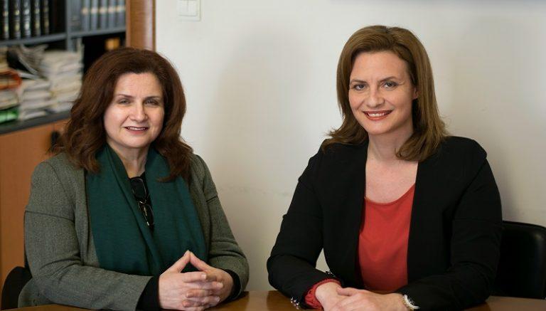 Δηλώσεις της Ζωής Φραγκούδη για την υποψηφιότητα της με τη Μ. Γκουγκουσκίδου