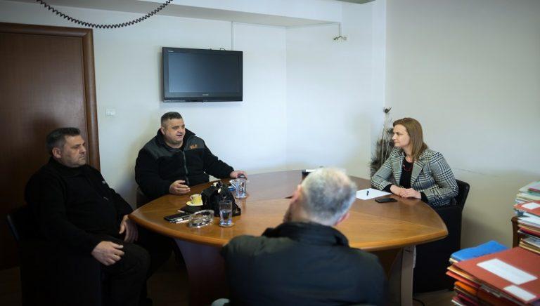 Συνάντηση Μ. Γκουγκουσκίδου με το Σωματείο Εποχικών Υπαλλήλων Εργοστασίου Ζάχαρης Ορεστιάδας