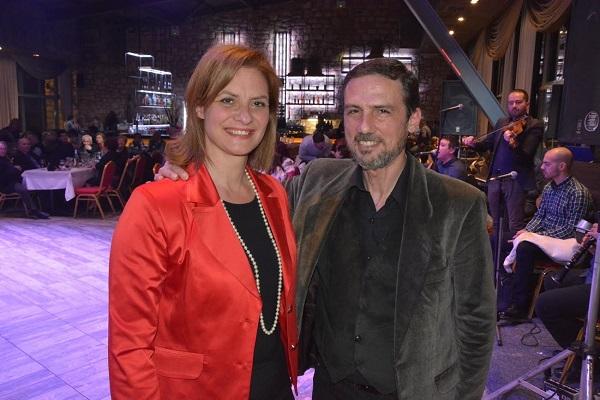 Συμμετοχή της Μαρίας Γκουγκουσκίδου στον ετήσιο χορό των Πετρωτιωτών Αλεξανδρούπολης