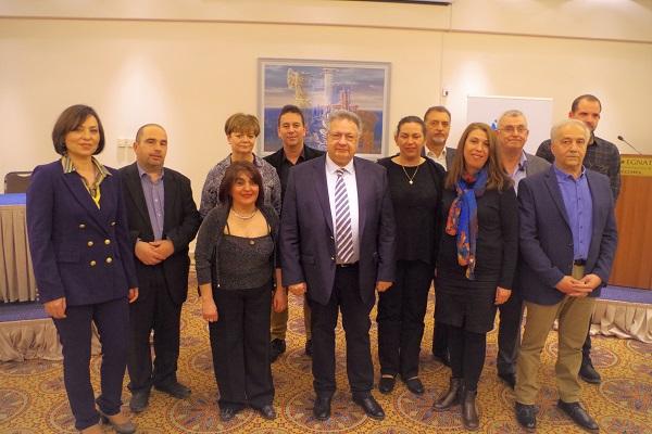 Οι πρώτοι  12 υποψήφιοι με τον Κώστα Κατσιμίγα στην Π.Ε.Έβρου