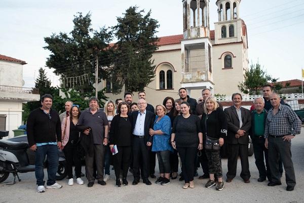 Χωριά του Δήμου Διδυμοτείχου επισκέφθηκε ο Παρασκευάς Πατσουρίδης