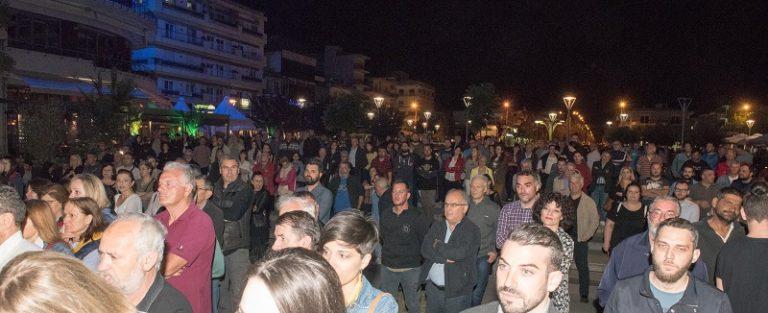 Με μεγάλη επιτυχία η προεκλογική ομιλία του Σάκη Παπανδρέου στην Ορεστιάδα